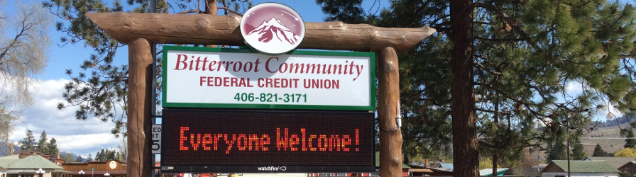 Credit Union sign 993